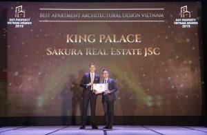 King Palace giành giải Dự án căn hộ có thiết kế xuất sắc nhất Việt Nam 2019