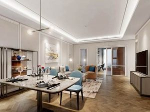 Căn hộ ba phòng ngủ, hướng đông nam, 'hàng hiếm' trên thị trường bất động sản Hà Nội